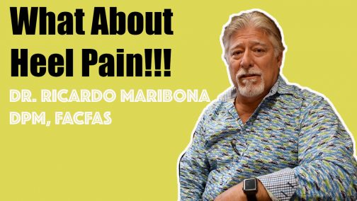 Heel Pain Video Dr Maribona
